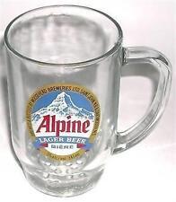 BEER DRINKING GLASS MUG ALPINE LAGER MOOSEHEAD BREWERY