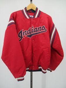 H1279 Cleveland Indians MLB-Baseball Jacket Size L