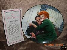 """""""The Big Squeeze"""" I Love Lucy Jim Kritz Hamilton Plate"""