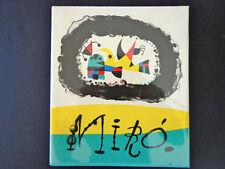 Joan Miró, J. Prevert& G. Ribemont-Dessaignes MINT Maeght, 1956 inv453