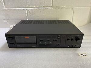 KENWOOD KX-660HX  Cassette Tape Deck with HX Pro #116