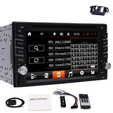 "6.2"" Doble 2Din Wince 8.0 Autoradio GPS Navegación CD DVD Estéreo  Bluetooth RDS"