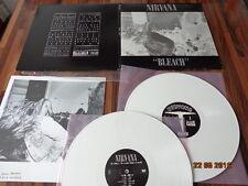 """NIRVANA  """"BLEACH"""" - VINYL 2 LP - 2009 - SP834 - WHITE WAX"""
