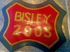 Embroidered cloth Bisley badge dated 2003