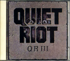 QUIET RIOT III JAPAN 1st Press CD 1986 32DP469 RARE!!