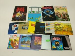 Original NES Instruction Manuals