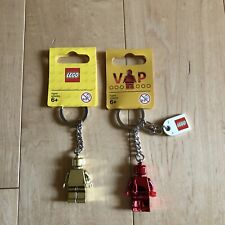NEW Limited Edition Lego Keychains Set of Two