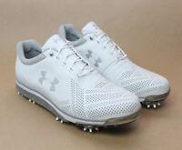 Under Armour Men's UA Tempo Tour Golf Shoes White 1270205-101 New Size 9