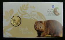 2013 Australia Coin and Stamp First Day Cover, Wombat