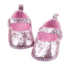 a20e5597b Cn   Bebé Niña Brillantina Lentejuelas Algodón Suave Sole Shoes Primero  Andador