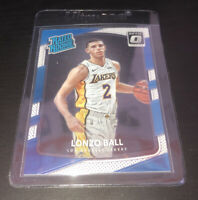 2017-18 Donruss OPTIC Lonzo Ball Rated Rookie Optic Card Lakers Pelicans #199