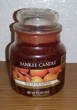 Yankee Candle Spiced Pumpkin Jar Candle (Small, 3.7oz) Orange D4228