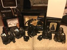 Gentle Giant Darth Vader Set Of 5 Mini-busts 1st Version Chrome McQuarrie ROTS