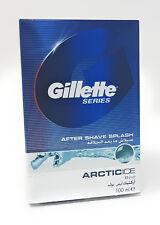 Gillette Blue ARCTIC ICE After Shave Splash 100 ml