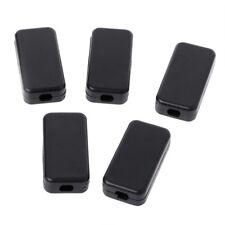 5Pcs Black Plastic Electronic Project Box Enclosure Instrument Case 40x20x11mm