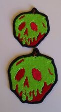 "Disney Snow White Inspired ""Just One Bite"" Poison Apple Patch MEDIUM"