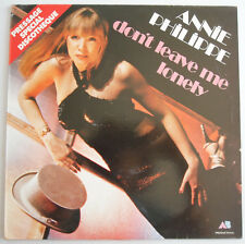 MAXI 45 TOURS ANNIE PHILIPPE DON'T LEAVE ME LONELY 1979 AB 21 41 144
