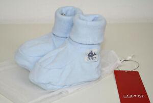 ESPRIT Baby Boys Jungen Jersey Schuhe Babyschuhe hellblau NEU