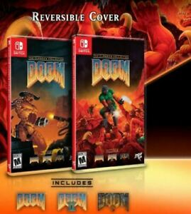 Doom: The Classics Collection Nintendo Switch Presale Limited Run Games - New!