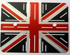 Triumph Bonneville t120 watercooled Régulateur Couverture Régulateur Union Jack en aluminium