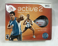 NINTENDO WII EA Sports Active 2 Personal Trainer Game & Accessories
