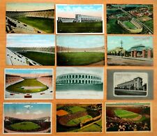 12 Postcards Football Game Harvard University Stadium Cambridge MA 1904-1947