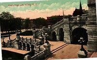 Vintage Postcard - Un-Posted Capitol Approach Albany New York NY #4298
