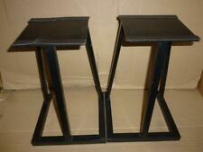 Metal Speaker Stands (Pair)-40 cm-High Quality.