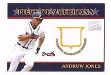 2003 Bazooka Piece Of Americana Relics Jersey Andruw Jones