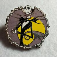 Disney Pin Nightmare Before Christmas Jack Rotating Heads Expressions Spinner