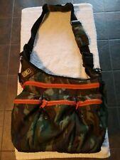 Diaper Dude Mens Diaper Bag Canvas Camo Dad Slingback Cross Body Water Resistant