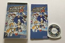 Sonic Rivals 2 II Sony PSP PlayStation Portable Complete PAL Sega