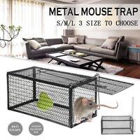 Rat Mouse Trap Catcher Humane Live Reusable Pest Cages Rodent Mice Vermin Bait