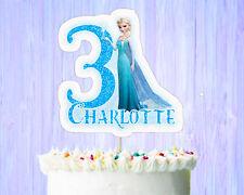 Elsa Birthday Cake Topper, Frozen Birthday Cake Topper
