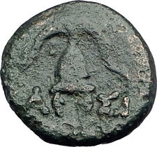 DEMETRIOS I Poliorketes MACEDONIA King Shield Helmet Ancient Greek Coin i62777