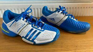 ADIDAS Adiwear 6.0 BARRICADE Murray TENNIS SHOES Trainers White / Blue UK 11