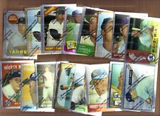 1996 Topps Mickey Mantle CHROME commemorative complete set 1-19 Yankees