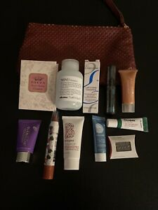 Ipsy/ Birchbox/ Sephora Makeup Lot of 11 with Cosmetic Bag 👄💅💄💋