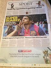 CHAMPIONS LEAGUE FINAL 2015 FC BARCELONA VS JUVENTUS - TELEGRAPH - 7 JUNE 2015