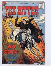 Tex Ritter Western #45 Charlton 1959