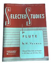 Selected Studies For Flute By H. Voxman