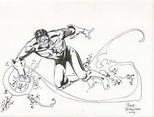 Green Lantern Kyle Raynor Commission - 2009 art by Steve Leialoha