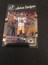 2016 Donruss Stat Line Season Packers Football Card #104 Aaron Rodgers 192/347