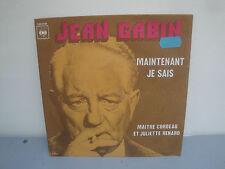 Vinyle 45 Tours - Jean Gabin - Maintenant Je Sais - 1974