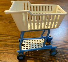 Vintage 1995 Barbie Doll Grocery Store Shopping Cart
