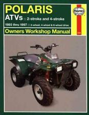 HAYNES POLARIS ATVS OWNERS WORKSHOP MANUAL - NEW PAPERBACK BOOK