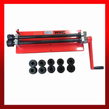 "WNS Bead Roller Former Swager Rotary Swaging Machine 457mm 18"" 1.2mm 6 Roll Sets"