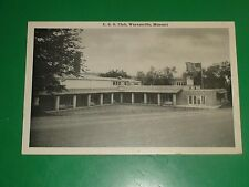 ZT665 Vintage Postcard U.S.O. Club Waynesville Missouri