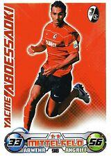 98 Yacine Aboessaoki - SC Freiburg - TOPPS Match Attax 2009/2010