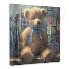 """Thomas Kinkade A Trusted Friend Blue Bell 14"""" x 14"""" Gallery Wrapped Canvas"""